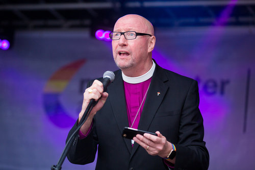 Rt Revd Paul Bayes Bishop Of Liverpool Lcr Pride