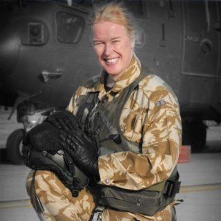 Flt Lt Caroline Paige