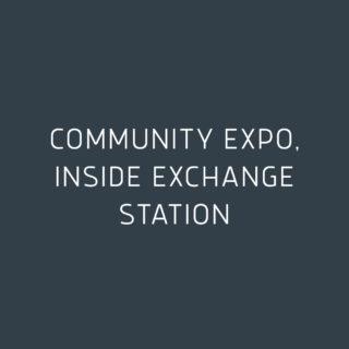 Community EXPO, Inside Exchange Station