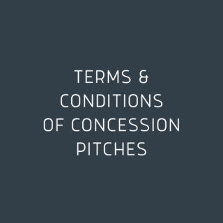 Terms & Conditions of Concession Pitches